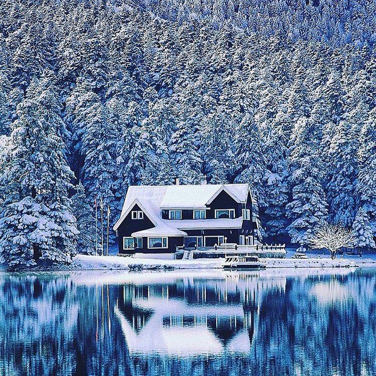 #CabinPorn | winter getaway anyone?