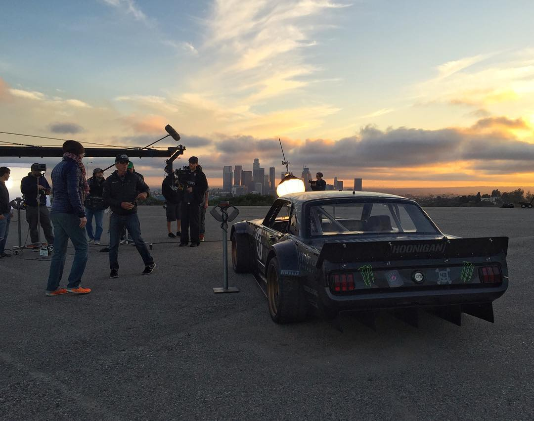 It's been fun shooting this commercial today for Unity Media. And my Ford Mustang Hoonicorn RTR makes for a great supporting actor (it was just a static prop for this shoot). Plus it's nice that I can land commercial work despite being a self-labeled...