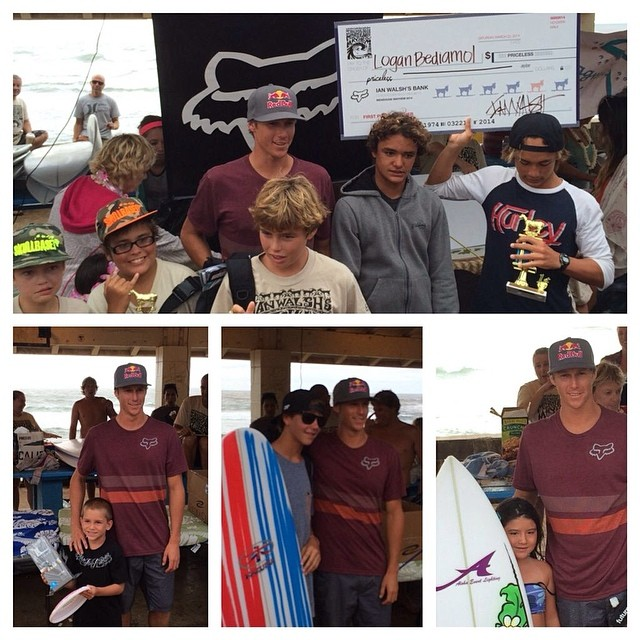 The kids of Maui are having fun at Ian Walsh's event #MenehuneMayhem. This is a special event that Ian organize every year for the kids of Hawaii to make the contest experience more special and fun for them and in a way he wish he had when he was a...