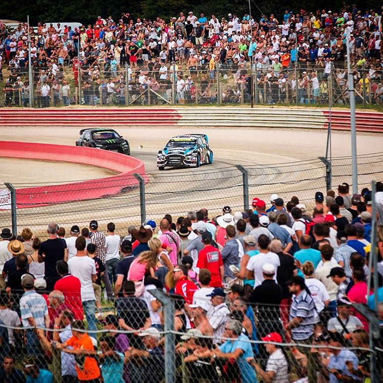 #TBT to 2014 when I took fourth at my second-ever @FIAWorldRX Championship race, back in 2014 in Lohéac France. Really stoked to get back to this tracks and more this year, this time with full @FordPerformance factory backing. 2016 is going to be a...