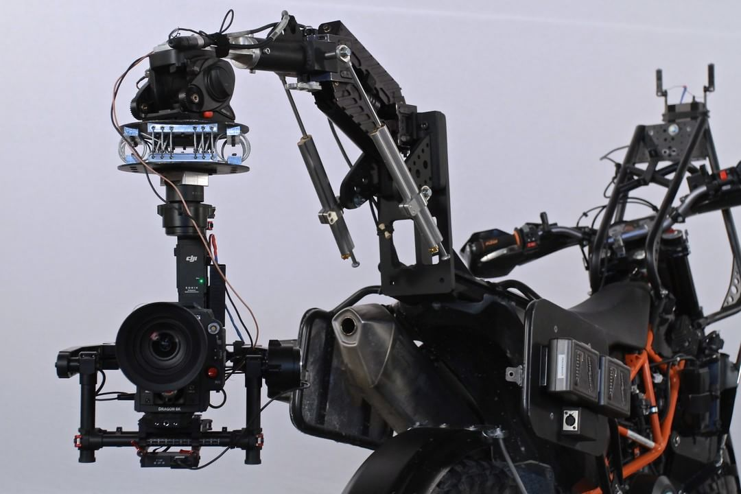 Custom rig for the #DJI #Ronin used on set for the new #StarTrek movie by Peacemaker Filmworks.  #WhatsNext #IamDJI