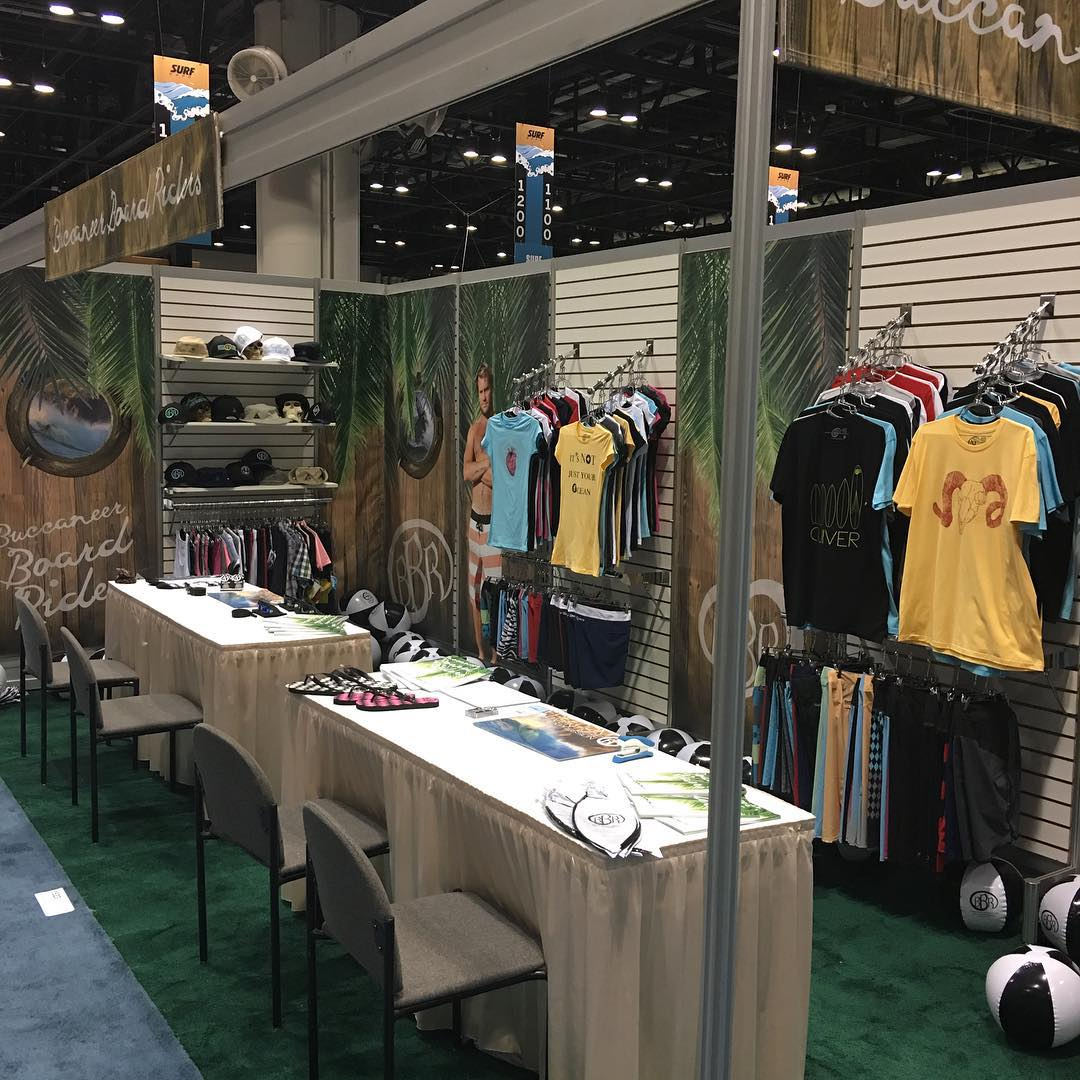 Come by booth 1523 @surfexpo #surfexpo #orlando #florida #booth1523 #bbr #bbrsurf #bbrsurfwear #buccaneerboardriders