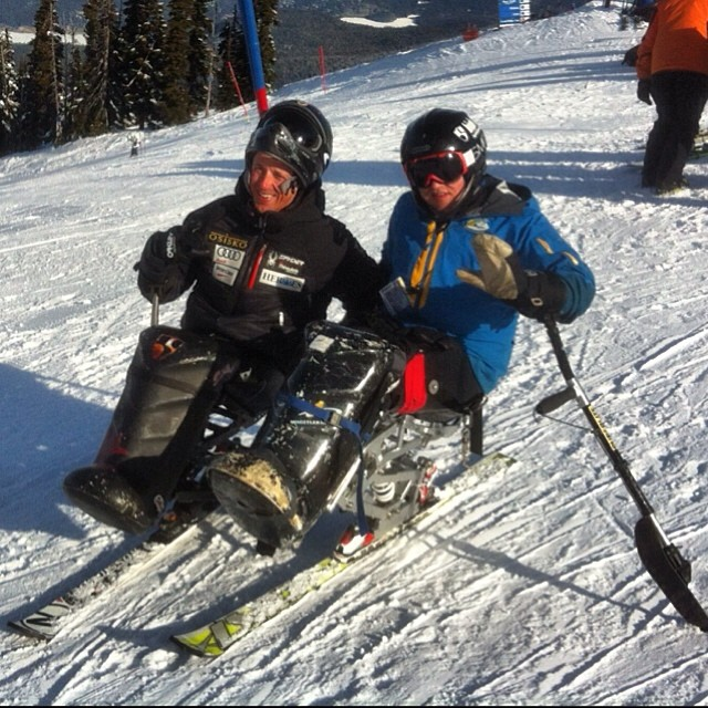 #highfivesathlete Josh Dueck and #highfivesathlete Landon McGauley at Canadian Nationals #snocru