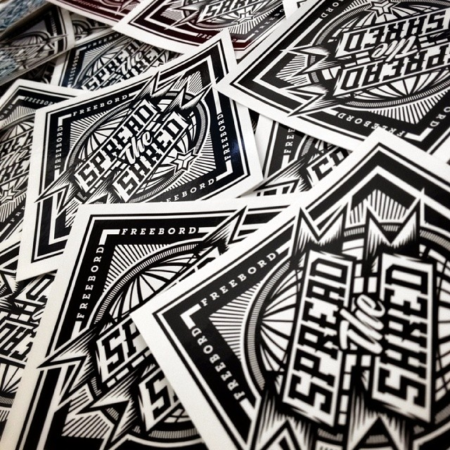 New #SpreadtheShred tour stickers are in, and official tour schedule will be announced soon.  Want to be involved? Be sure to let us know in the comments.
