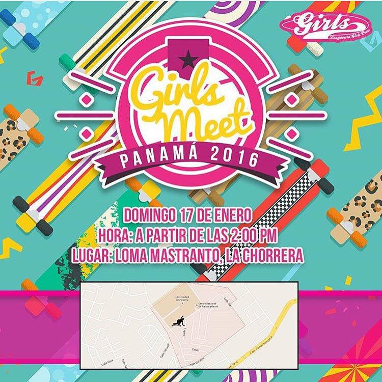 PANAMA! Este domingo 17 de enero Girls Meet! Quien viene?