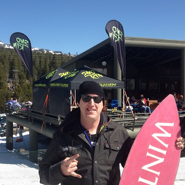 Great day at the Legends of snowboarding at Soda Springs !!