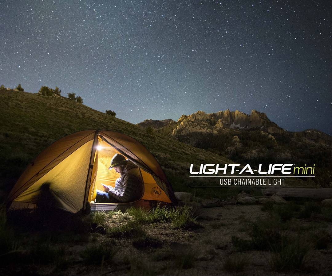 Meet the Light-A-Life Mini. A chainable USB powered 110 lumen light. To learn more follow the link in our profile.