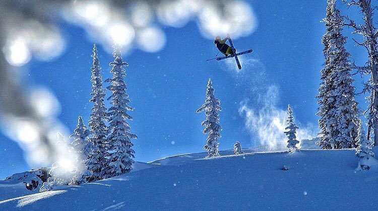 @t_hayne was back at it in Idaho last week. #shapingskiing Credit: @idahobackcountry