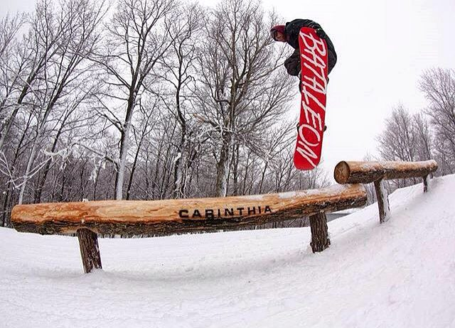 @ShaunMurphy413 sending the new @CarinthiaParks wood park.
