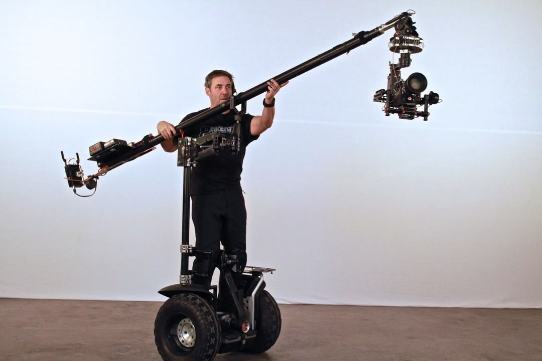 It's more fun on a #segway.  A #DJI #Ronin custom rig by Peacemaker Filmworks  #WhatsNext #IamDJI