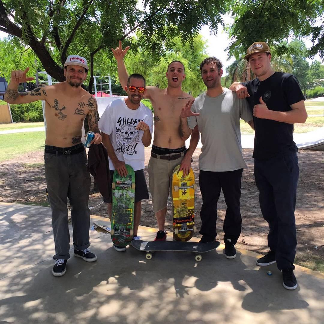 Andan!  Peter hewitt,  Grant Taylor, Raven Tershy, Pat y Juano. #skateboarding