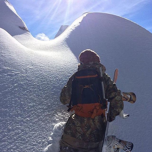 Tyler Lynch (@sababa_life) headed up for some freshies.