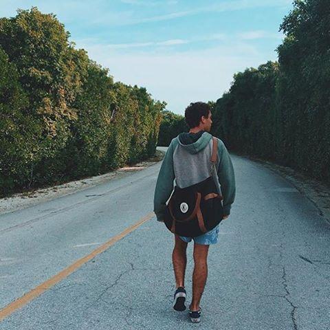 Take the long way home ✌️#Bubbabag SHOP ONLINE www.legionextranjera.com.ar