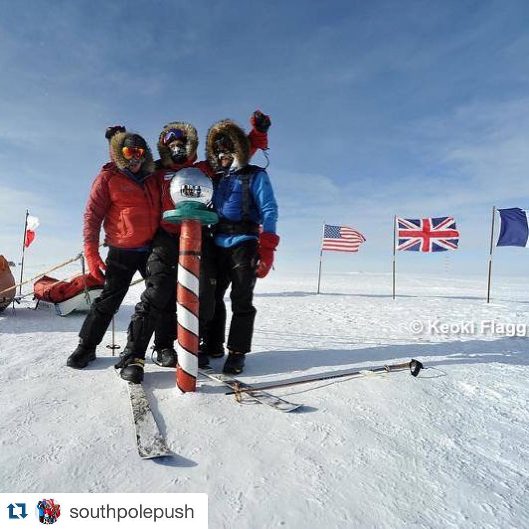 "January 17, 2016 – today is the 4 year anniversary of the Push Expedition's successful arrival at the South Pole!!! Just two years after sustaining a 2010 waist-down life-altering spinal cord injury and hearing the words, ""your cherished independence..."