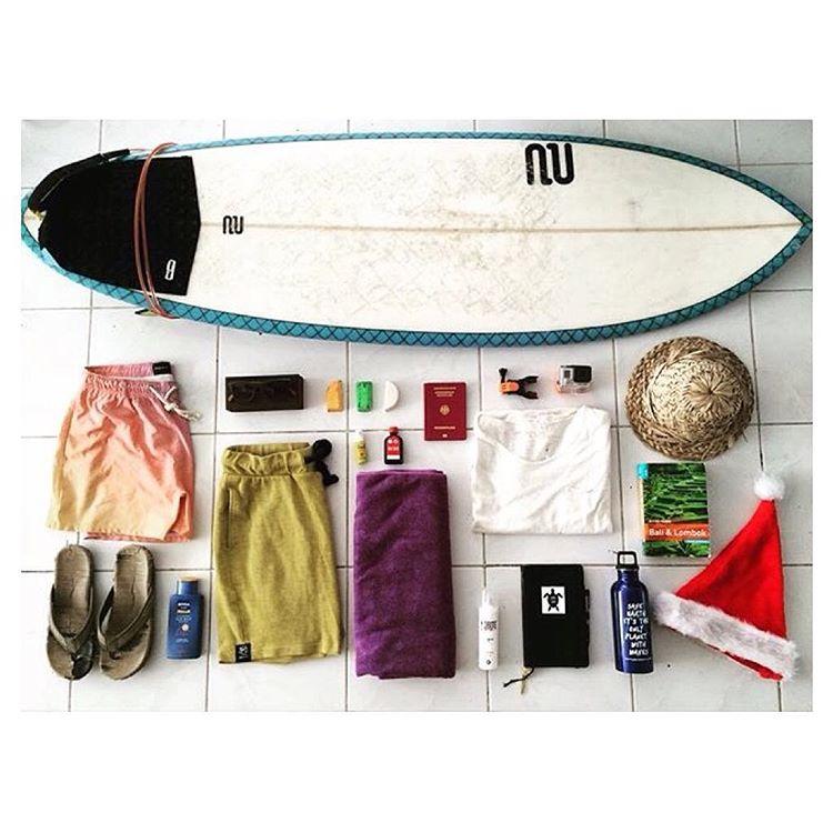 @lukegoodlife shares his travel essentials, including the #GrassMatSandal.