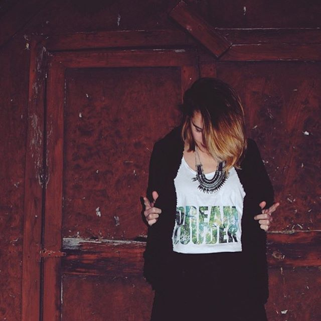 DREAM LOUDER tank via @feral_hearts. should i bring them back this spring?