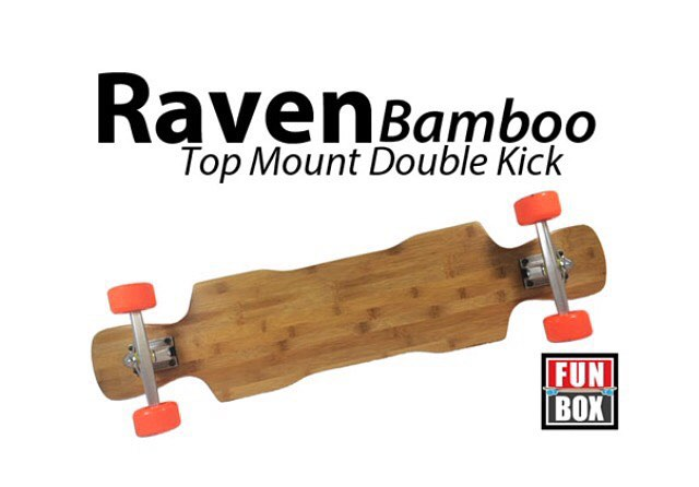 Looks like the #bamboo #raven is a hit. We will be shipping out the #weekend orders all day. #thankyou #skateboarding #longboarding #freeride #concretewave #longboard #slide #snap