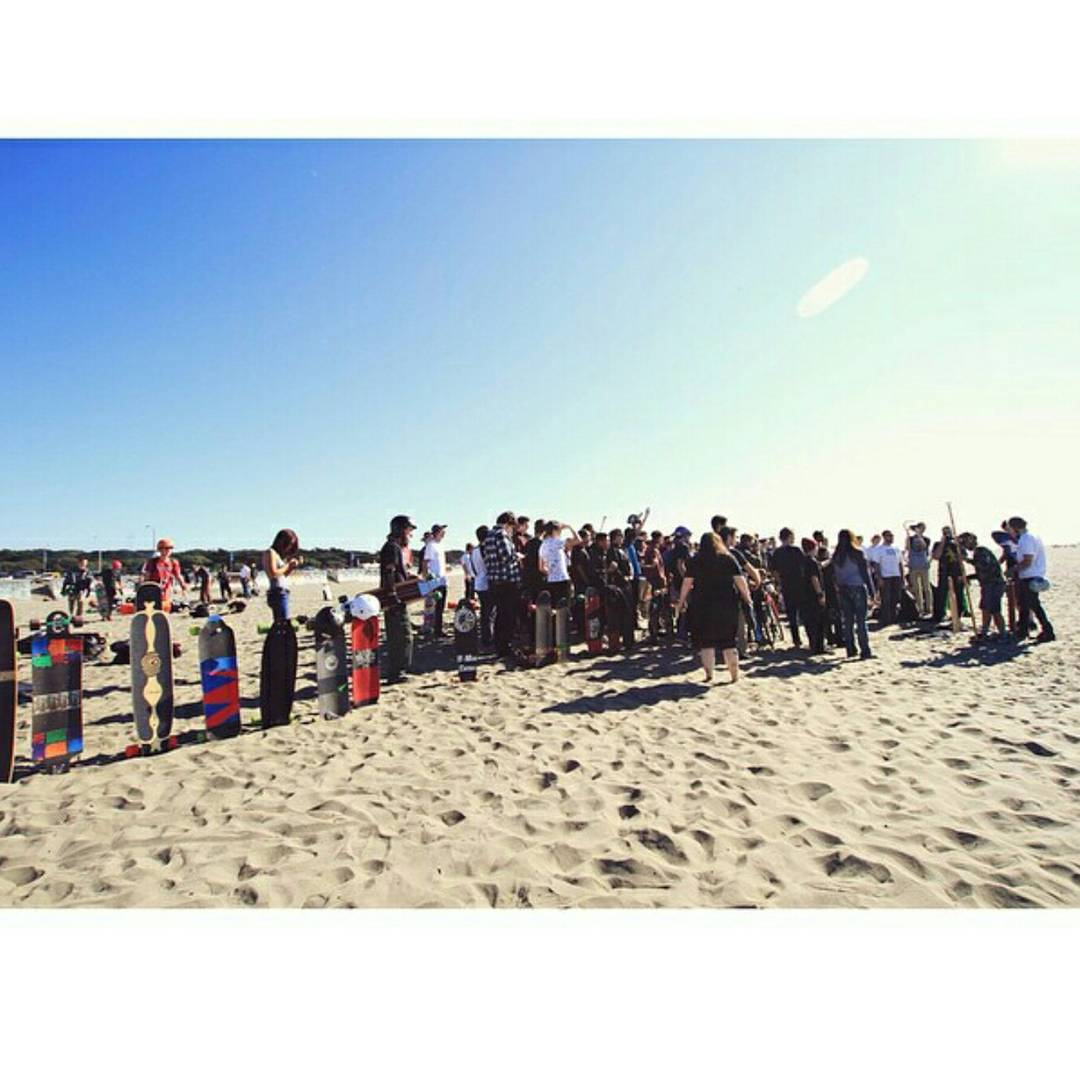 Golden Gate Park Race is this Saturday and we are excited!  Here is a picture from the beach BBQ at the end!