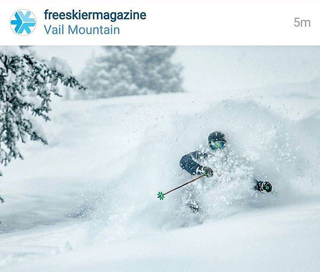 So stoked to see our athlete @chrstphr81620 featured on @freeskiermagazine - photo by @danielmilchev - such an amazing weekend at @vailmtn ! #kinddesign #kindathlete #whiteroom #liveyourdream