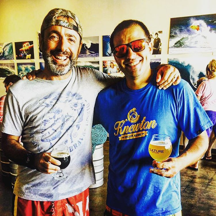 En la inauguración de Culture Brewery! Ocean Beach! Increíble lugar! Knewton around the world! .:Conexión Natural:. #BAR #SANDIEGO #USA #FRIENDS #LIFESTYLE #TRIP #SURF #ART #TRANKASTYLE #ROUTE  #CONEXIÓNNATURAL #KNEWTON