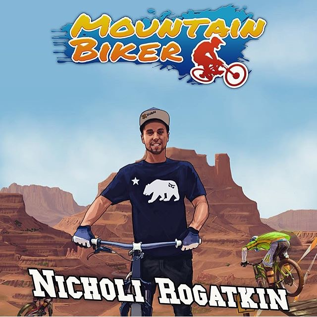 Want to practice your cash rolls without risking serious injury? Download the new Mountain Biker game for iOS and play along as @nicholirogatkin!