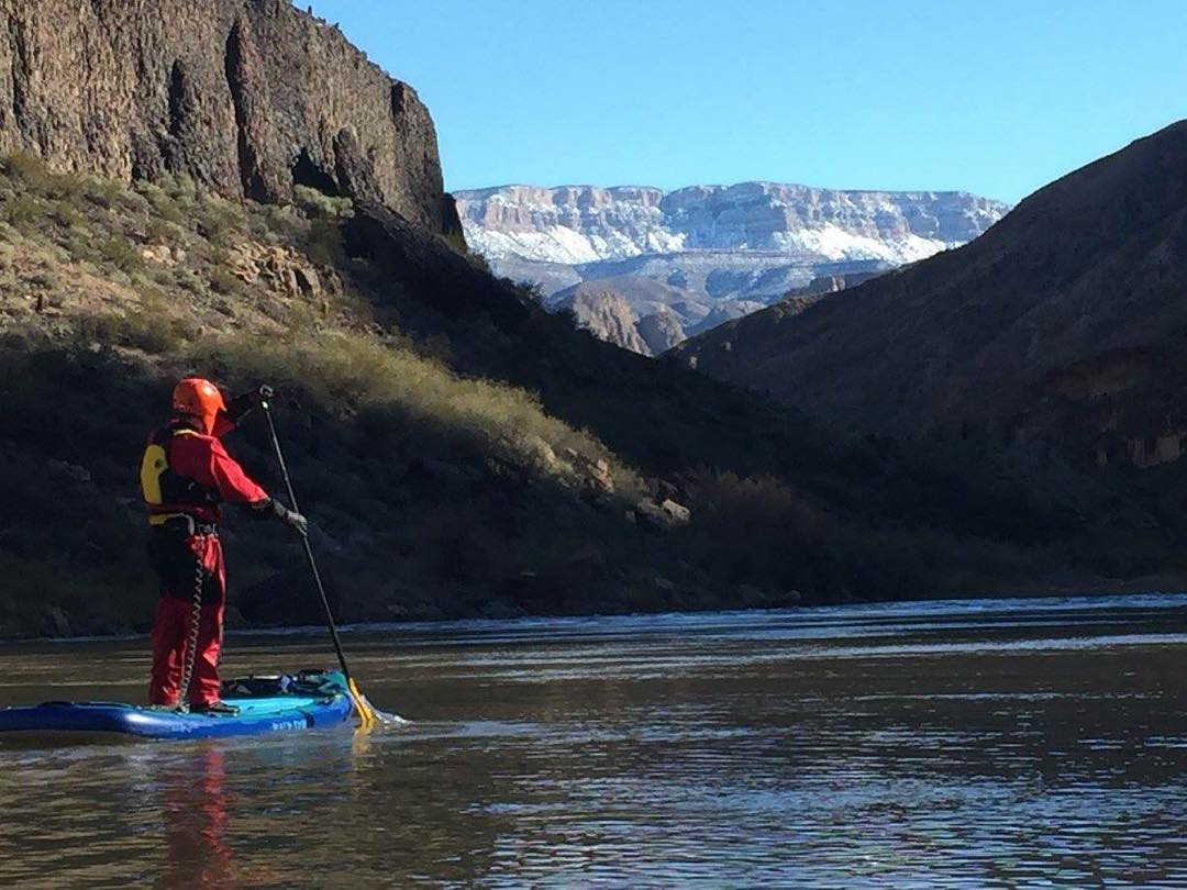 Brian Massey paddled 225 miles on the Hala Hoss! #adventuredesigned #halagear #halahoss #sup #inflatables #standuppaddle #paddleboarding