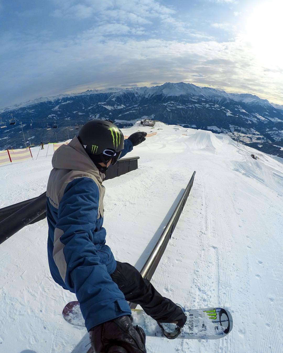 The #GoProSnow family is growing! Welcome to the team, @SvenThorgren, we're stoked to have you on board + watch you compete at #LAAXOpen this week! #GoPro