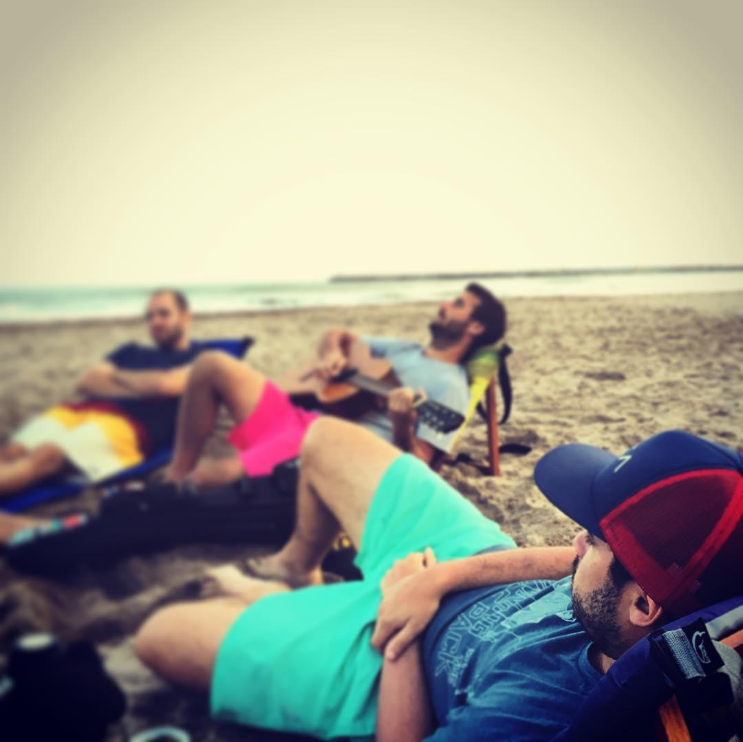 Despidiendo el finde largo... #playa #musica #amigos #trancastyleliving
