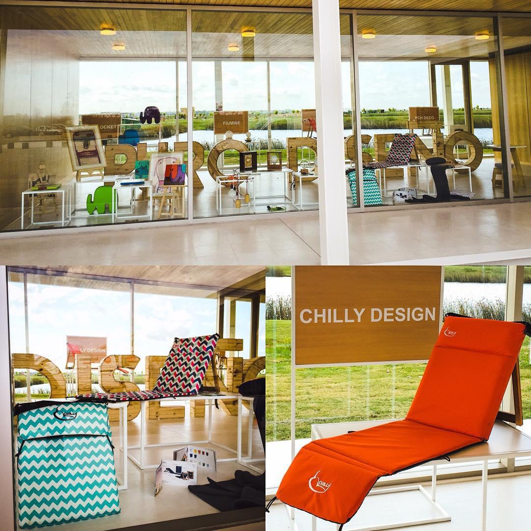 @chillydesign seleccionado por  @feriapurodiseno para la expo en Puertos del Lago... Pasa a visitar este increible lugar! OpenDay 12 de Diciembre.