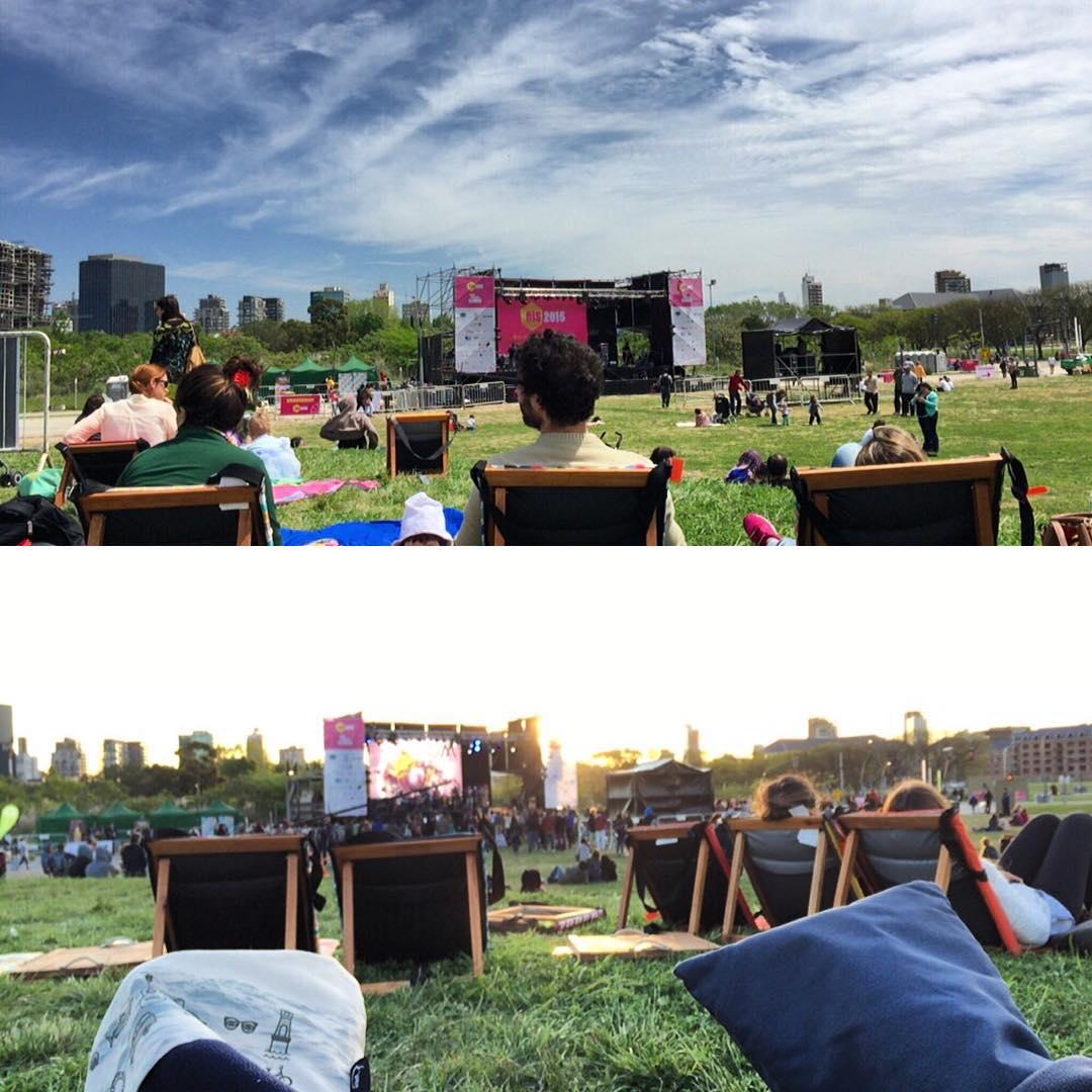 @chillydesign compartiendo un espacio para disfrutar más cómodos el Festival Internacional de Innovación Social #festivalfiis #dondecomienzaelcambio