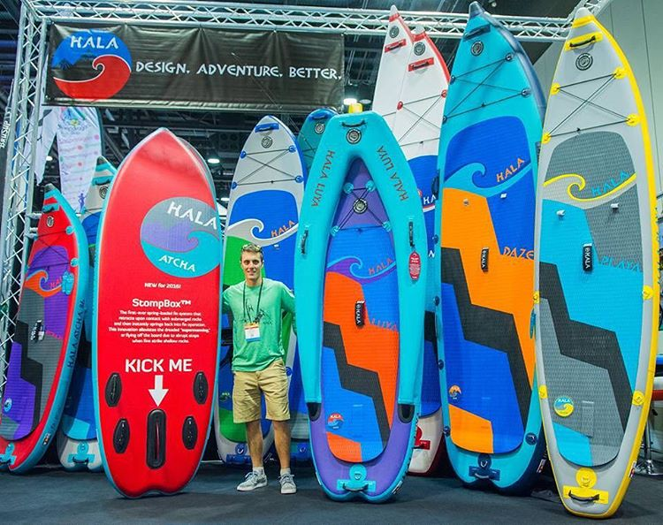 The 2016 Hala Gear lineup!  #halagear #adventuredesigned #whitewaterdesigned #yogadesigned #paddleboarding #standuppaddle #inflatables #sup #isup #newboards