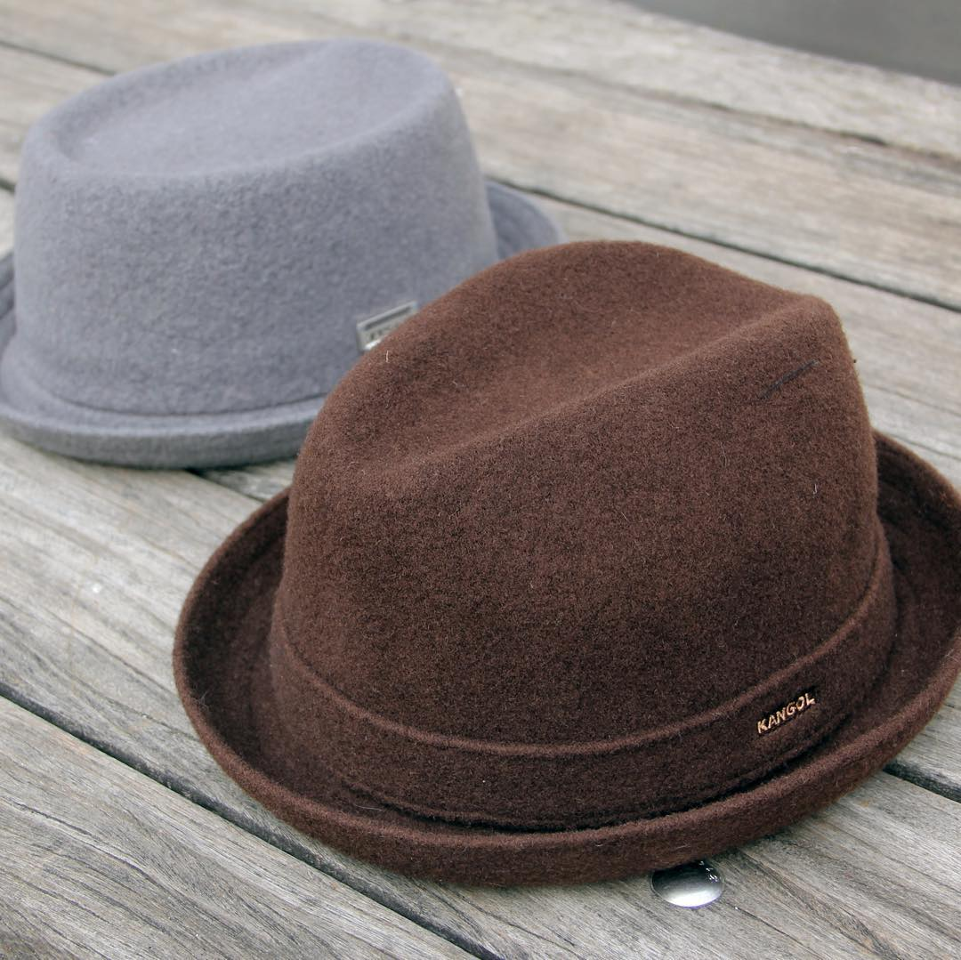 Wool Brims are a cold weather essential  #kangol