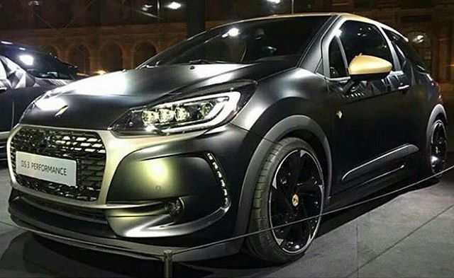 Loving the look of the new 2016 @citroen #DS3Performance!!! Who thinks my 2016 RX SuperCar needs to have the same look as the new #dsperformance street car?
