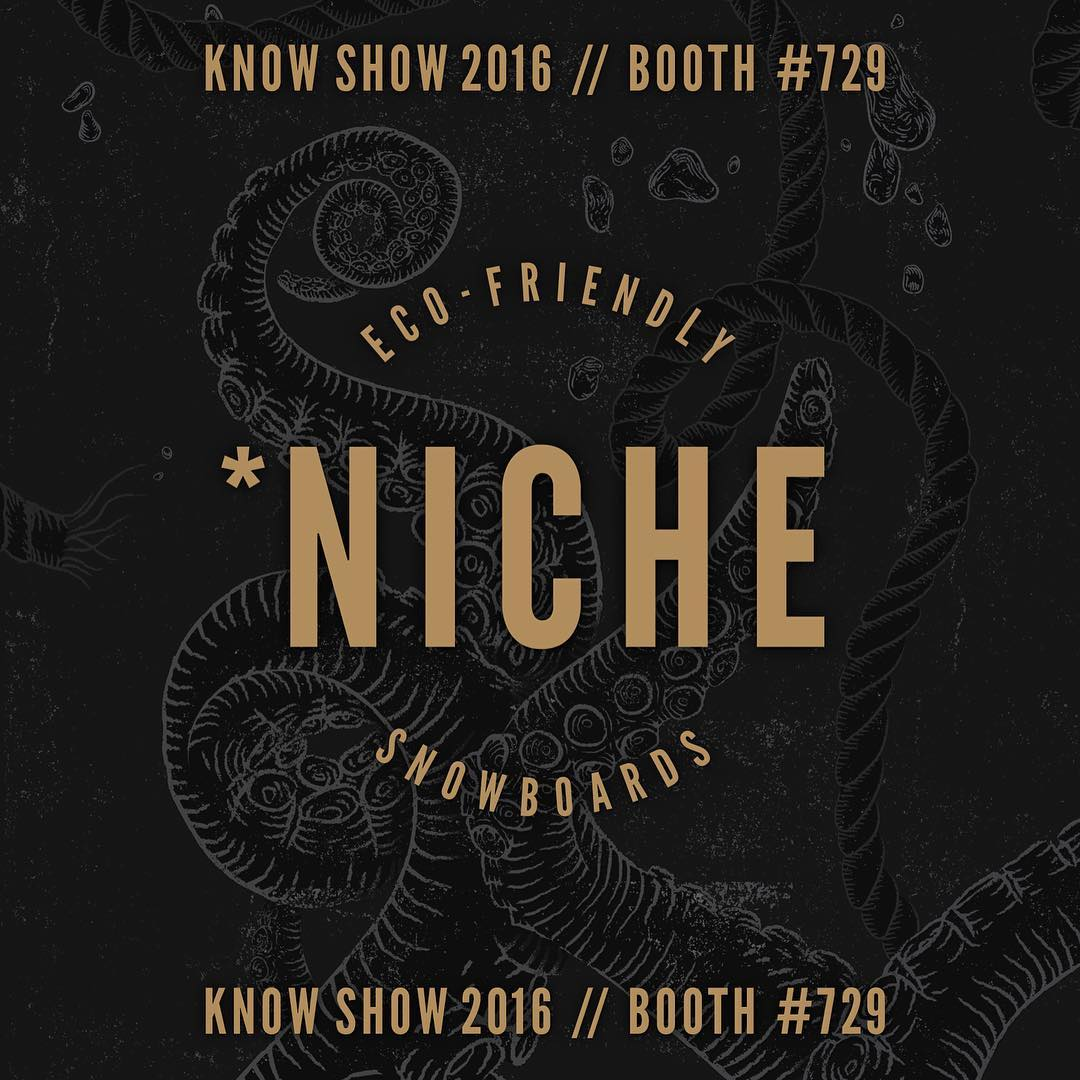 The day has come - #knowshow16 is here and we're finally unveiling all the cool new stuff that's been lurking for the 2016/17 lineup here at Niche! Stay tuned this week and next for sneak peaks of these rad new decks!