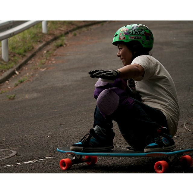 LGC #Japan ambassador Ayumi Oride @pitufimin (in the picture) & Fifer created a loving movement to help the #TyphoonYolanda skater victims get back on boards. Go to www.longboardgirlscrew.com and find out more about #keepemshredding. Our community is...