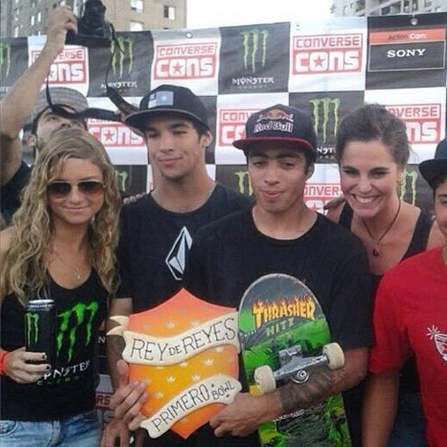 Felicitaciones Milton Martinez @miltonskatee y Sandro Moral @sandromoral ! Arrasaron en Chile!!! #CopaReydeReyes #Volcom #Skate #stoneAge #volcomfamily