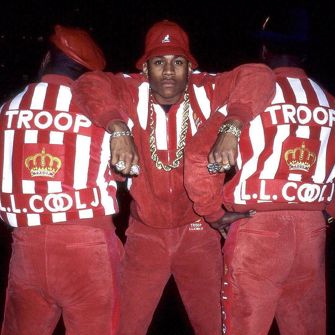 #tbt Squad featuring @llcoolj #kangol