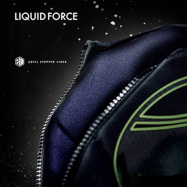 For that added extra warmth on those chilly days we added the Liquid Force exclusive Chill Stopper Lining to our all new Ghost vest. The fleece lining fabric keeps you feeling nice and toasty.  #LiquidForce #warmth #staytoastymyfriends #fleece