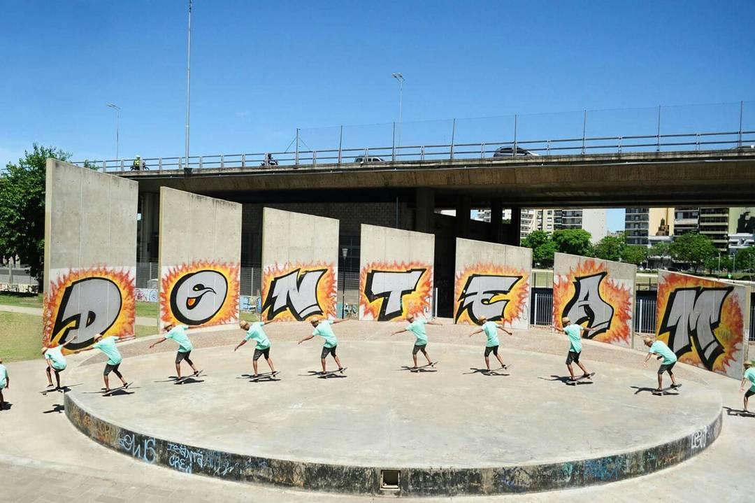 Jandro Diaz nos deja un nousemanual to popshuvit out en parque chacabuco,material crudo que en breve podran ver terminado. Ph. y Diseño : Daniel Caceres #labskateboarding #jandro #parquechacabuco #skate #laburando #produciendo