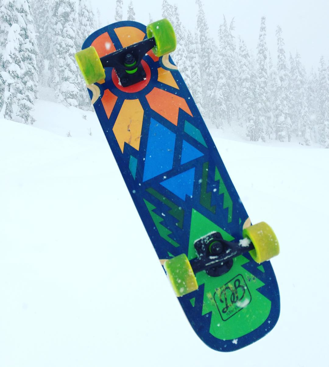 The Timber Mini Cruiser enjoying a visit to Snoqualmie Pass.