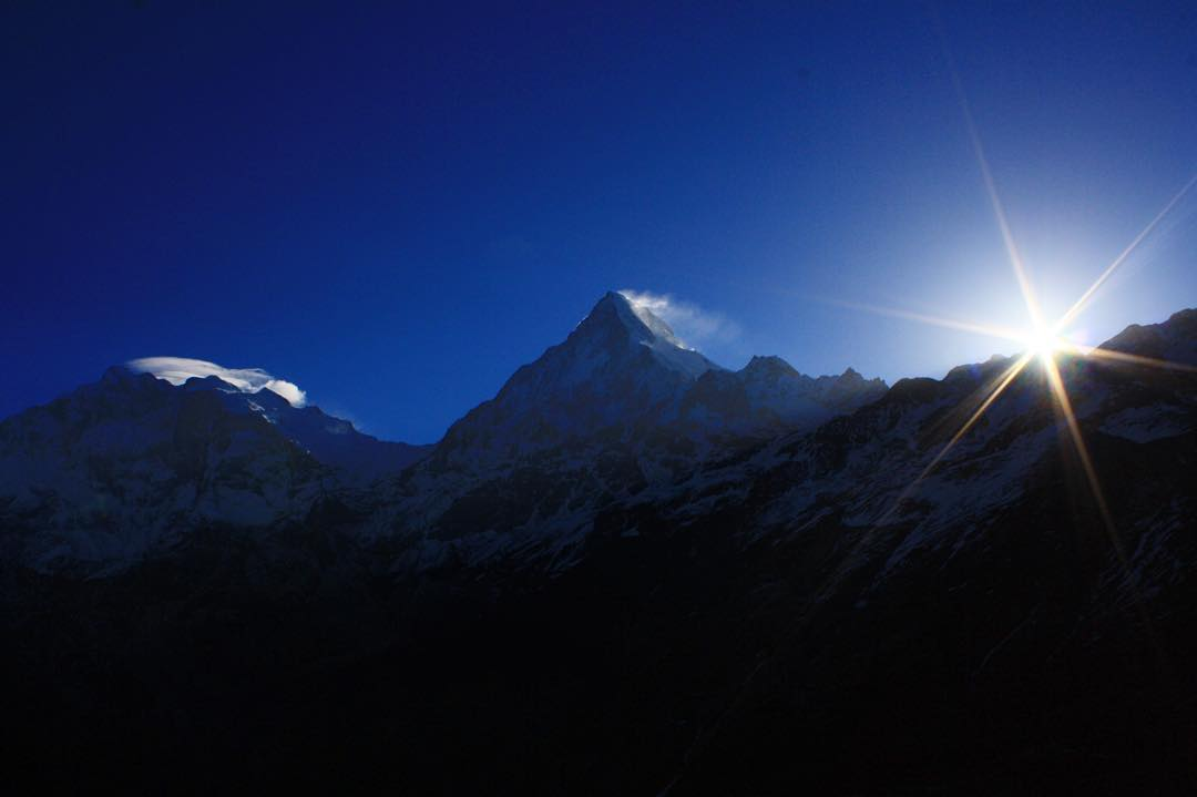 There's nothing quite like a Himalayan sunrise.