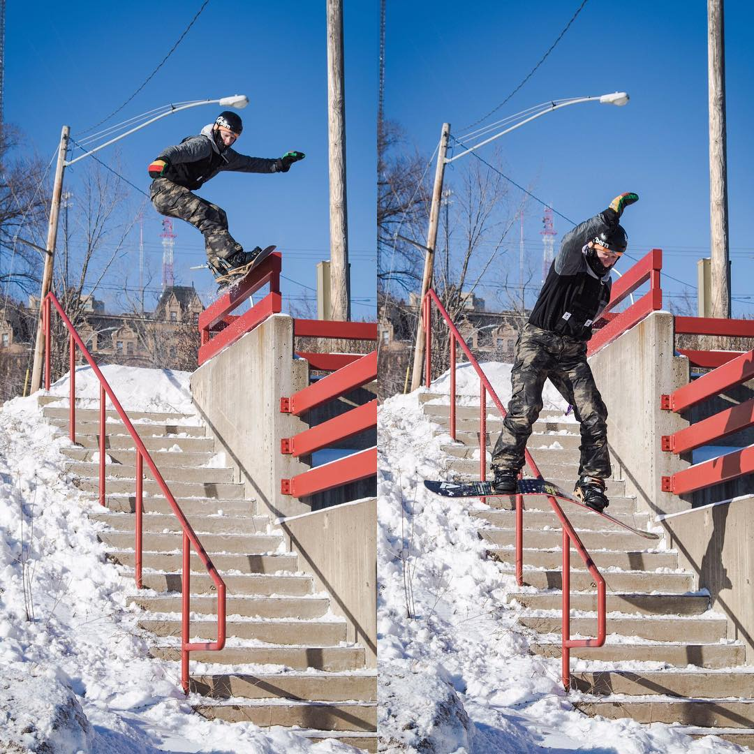Casey @azizipflipsen Pflipsen with the 50 gap to boardslide!