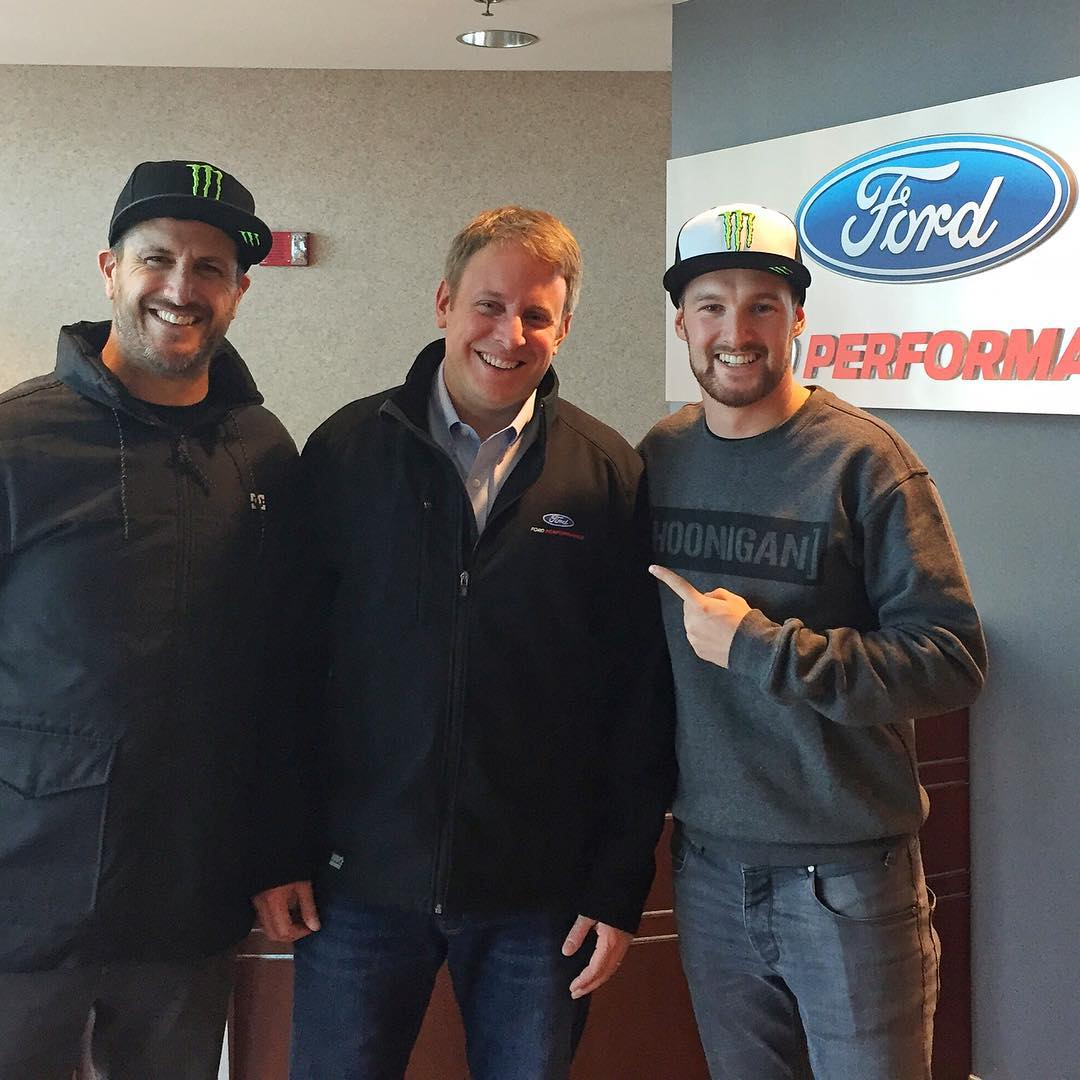 Had some great meetings @FordPerformance today with my new teammate @AndreasBakkerud. We even ran into this guy: Henry Ford III. You know, of the Ford name in Ford Performance? Nice guy! Great seeing you again, Henry, we're very excited about this...