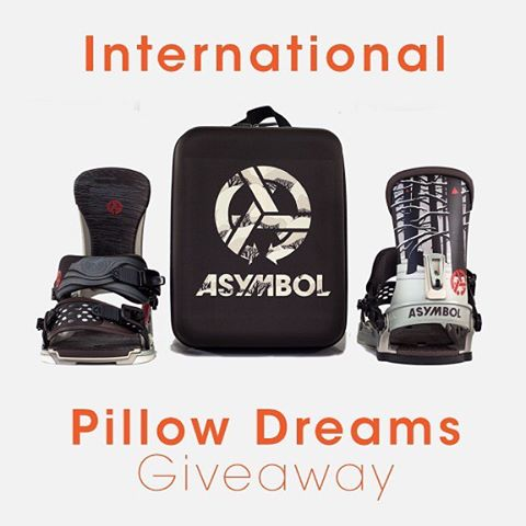 International Pillow Dreaming Binding Giveaway!  Enter right now people! Win 2016/17 Asymbol x Union Bindings, Adam Haynes' Dawn Patrol print and Pillow Dreams sticker pack.  The Asymbol community is truly global. We've heard the frustration from our...