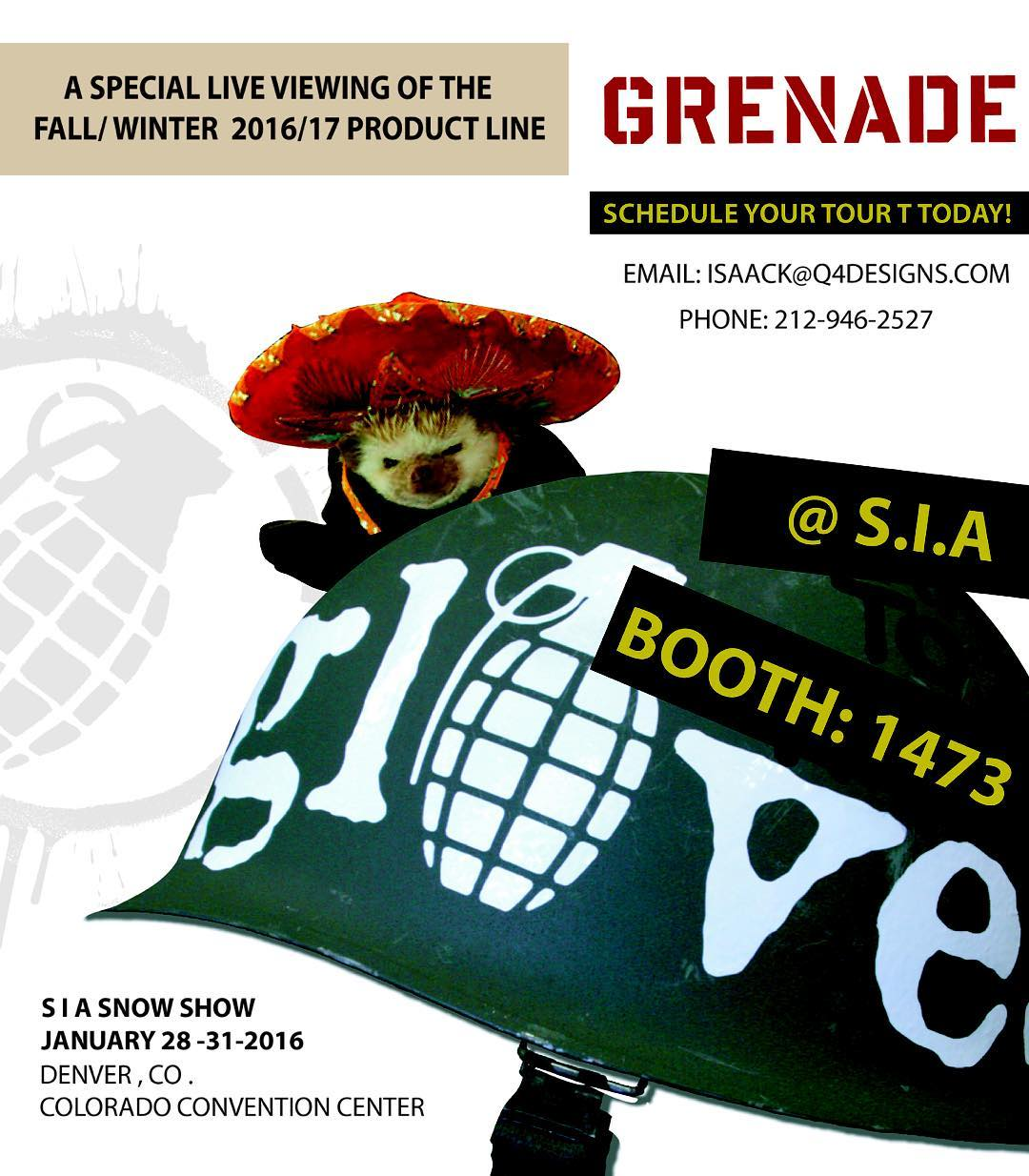 We have Top Secret information straight from General Kass.  If you are at SIA this year come visit booth 1473 to see the new product for Fall/ Winter 2017. Schedule an appointment with isaack@q4designs.com  #grenadegloves #topsecret #MakeGlovesNotWar #SIA