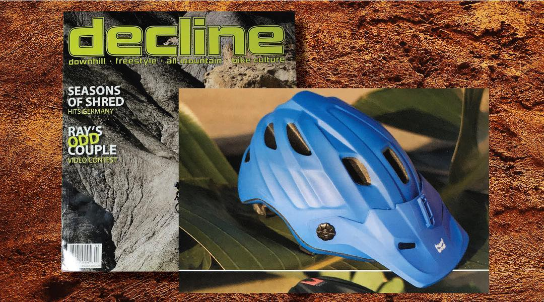 """The Maya is a sleek and very budget friendly helmet for those wanting to look good"" - @declinemagazine  We couldn't agree more. Check out the review in the March issue. #mayahelmet #enduro #mtb #enduroblue"