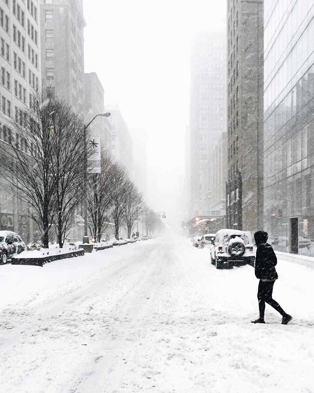 #Snowmaggedon in #NYC has got us bundled up and staying in, but not @stylebytone. #Brrr #jonas