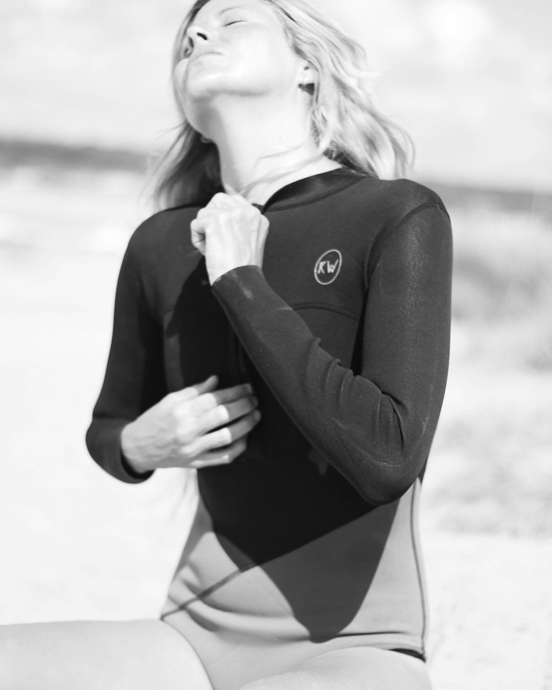 @marinauruguay testing our 1.5mm Neoprene Surfsuit