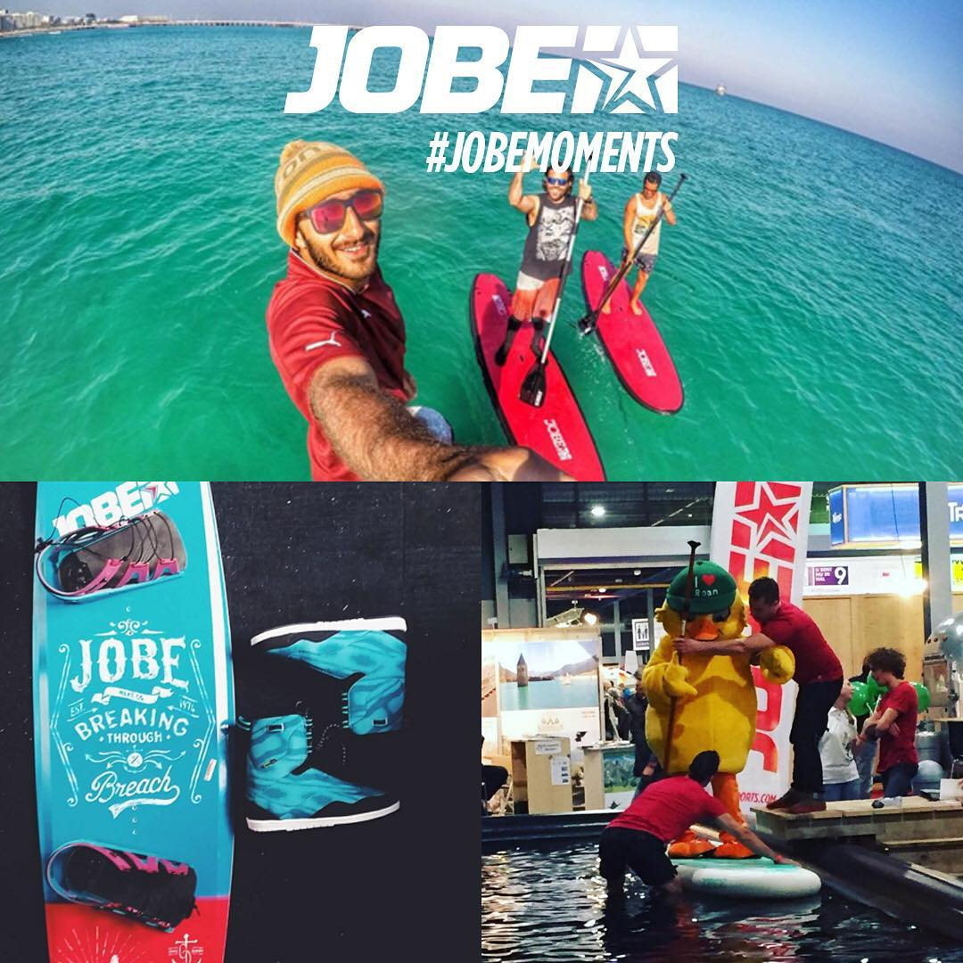 This week we got some great #jobemoments again! Thanks @mhkhoshbaten, a mascot at the Vakantiebeurs and a special mention for @williamdoornekamp because he told us he loves his Jobe Breach and EVO more than his girlfriend!  Keep using #jobemoments and...