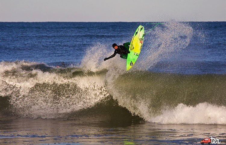 @quentin_turko taking flight in the Outer Banks.